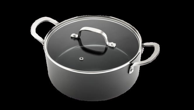 Murray keramische kookpan 28 CM - RVS greep