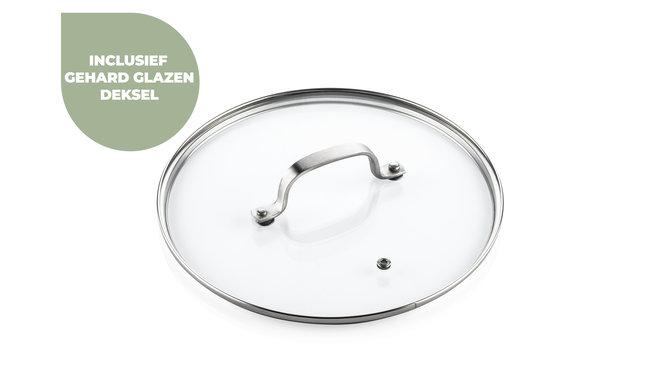 ISENVI Murray keramischer Topf 20 cm - Edelstahlgriff - Copy