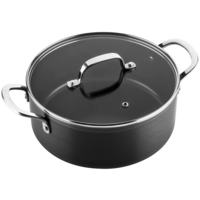 Victoria Forged keramische kookpan 24 CM - RVS greep