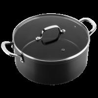 Victoria Forged keramische kookpan 28 CM - RVS greep