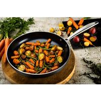 Victoria Forged Chef Deluxe Pannenset   - RVS grepen