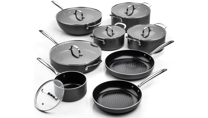 Victoria Forged Chef Totaal Pannenset