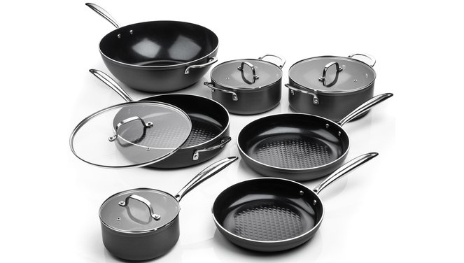 Victoria Forged Chef Deluxe Pannenset