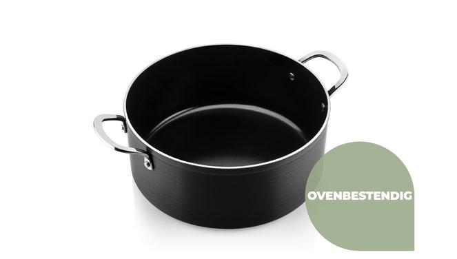 Victoria Forged Kitchen Master Pannenset - RVS grepen