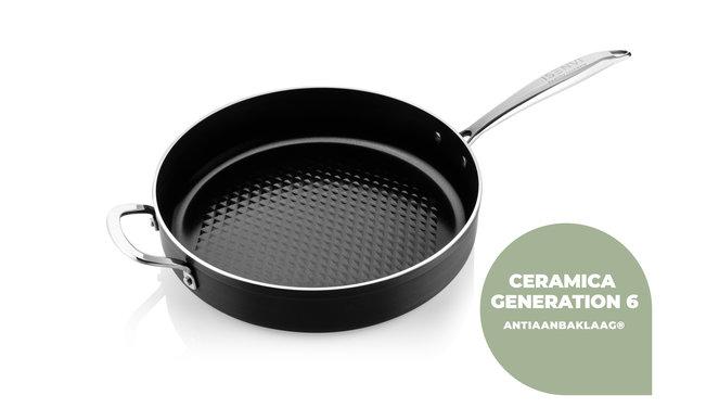 Murray Combideal koekenpan 28 cm + wok 32 cm + spatels
