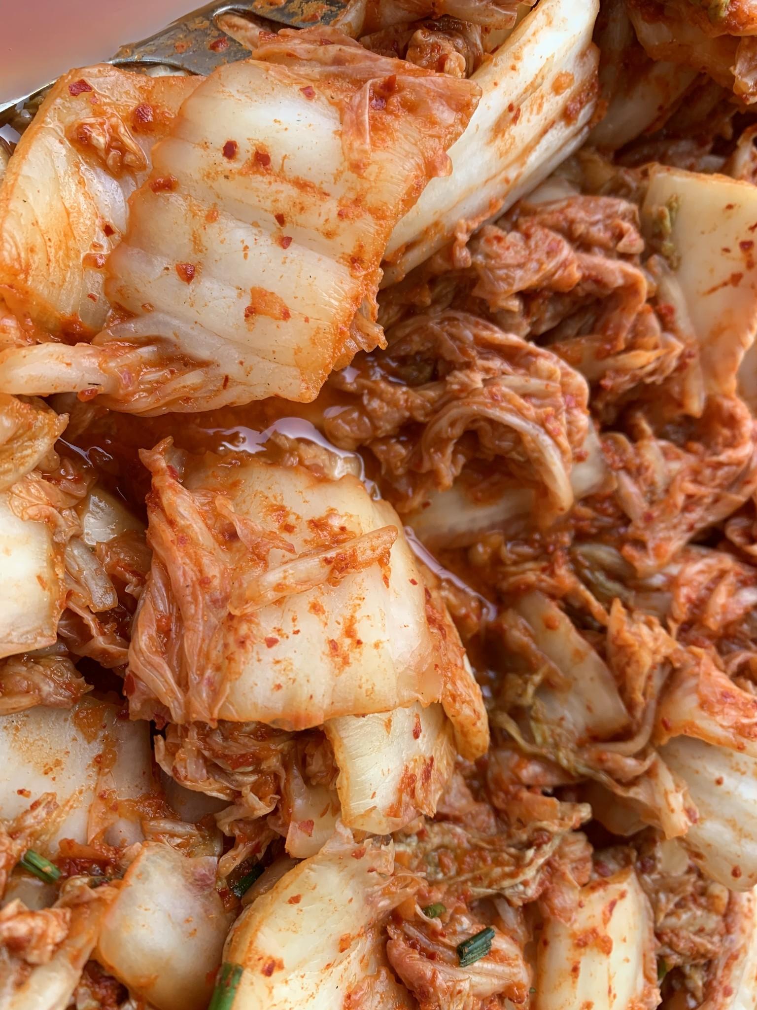 Kimchi maken