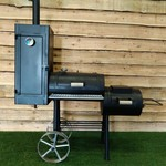 Bbq smoker 13 inch 6mm - (dutch product)