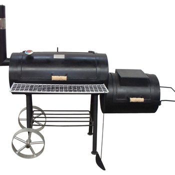 Offset bbq smoker 13inch 4mm
