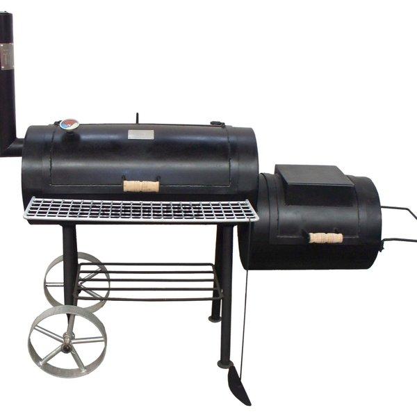 Offset bbq smoker 13inch 4mm