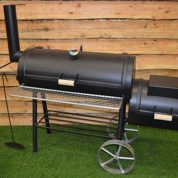 Offset bbq smoker 16inch 4mm zwart