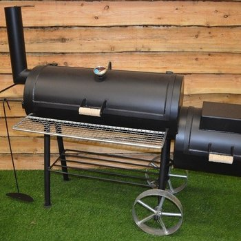 Offset bbq smoker 16inch 6mm