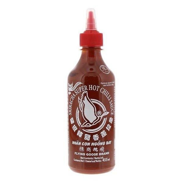Flying Goose Chilisaus Sriracha extra heet 455 ml