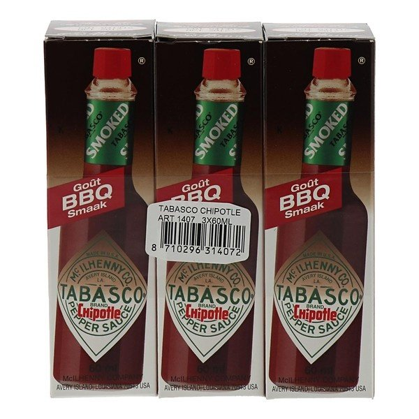 Tabasco Chipotle 3 x 6 cl