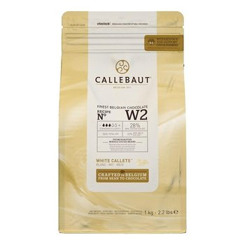Callebaut Finest Belgian chocolate White w2