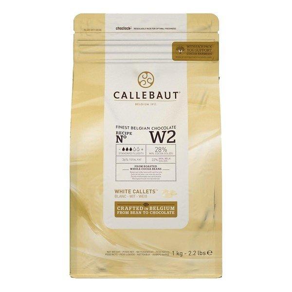 Callebaut Finest Belgian chocolate White w2