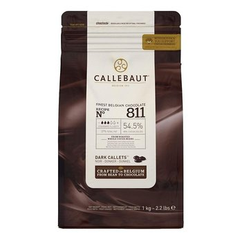 Callebaut Finest Belgian chocolate Callets dark 811