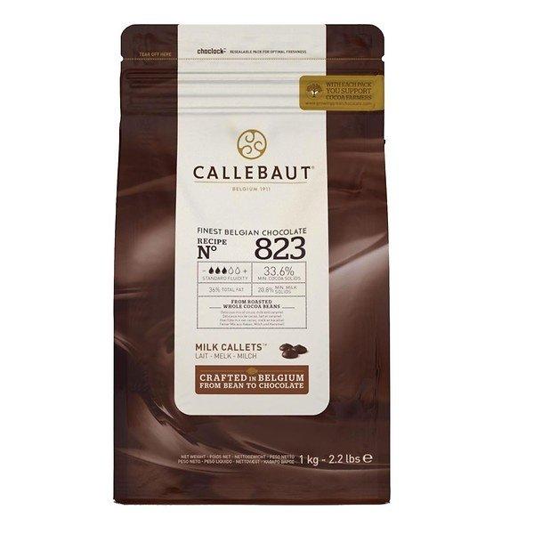 Callebaut Finest Belgian chocolate Milk 823