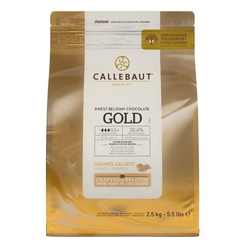 Callebaut Callets gold karamel-chocoladesmaak