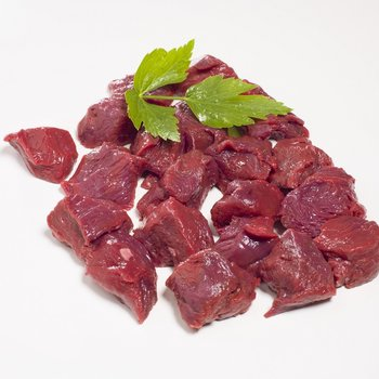 Eland stoofvlees ( worstenvlees )