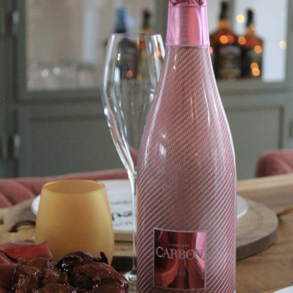 Carbon's Pink Rosé borrelplank