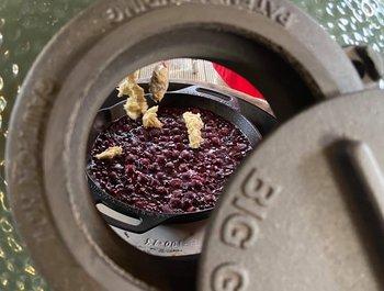 Jack Daniel's Sour Cherries met Cobler deeg