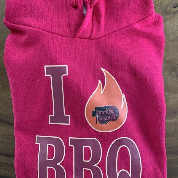 Hoody roze BBQ