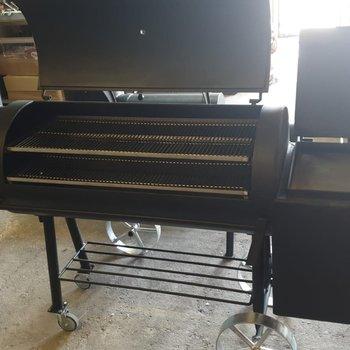 21 inch offset smoker 8MM