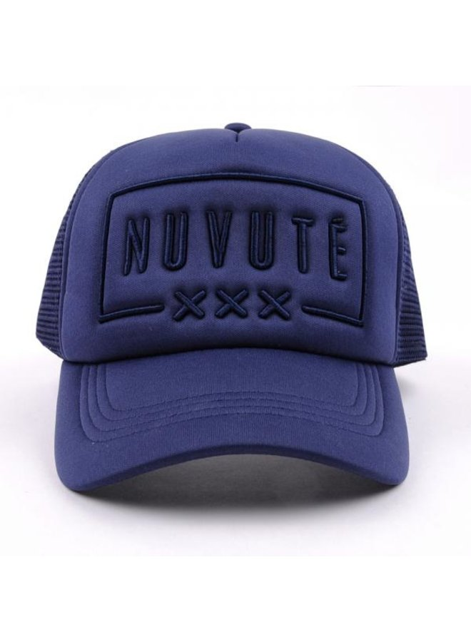 Nuvute - Trucker Cap Navy Blue