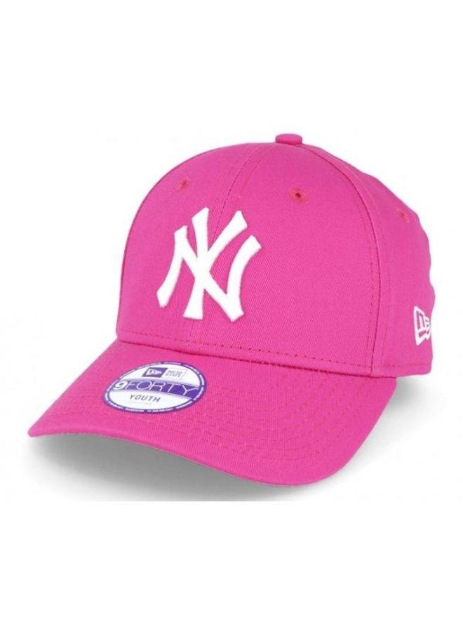 New Era Caps - KIDS New York Yankees Pink White
