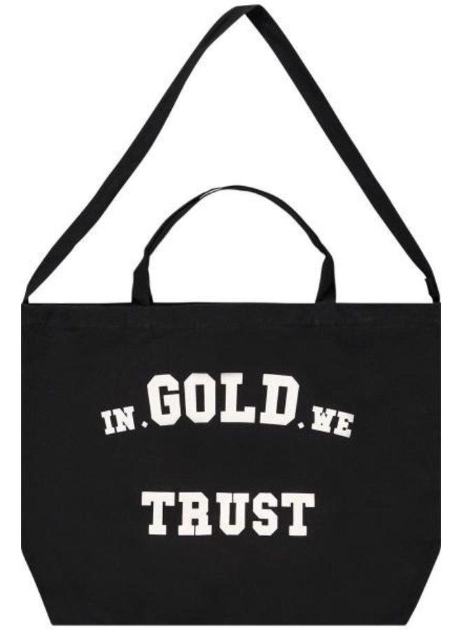 In Gold We Trust - Shopper Bag