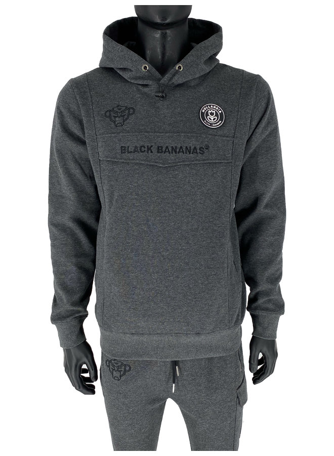 Black Bananas - Anorak Tracksuit Grey