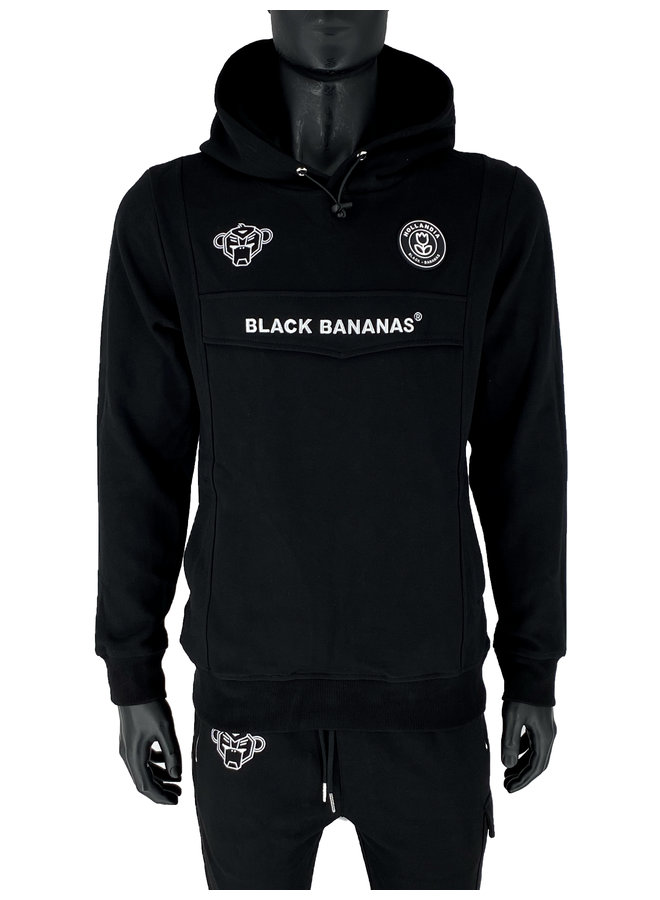 Black Bananas - Anorak Tracksuit Black