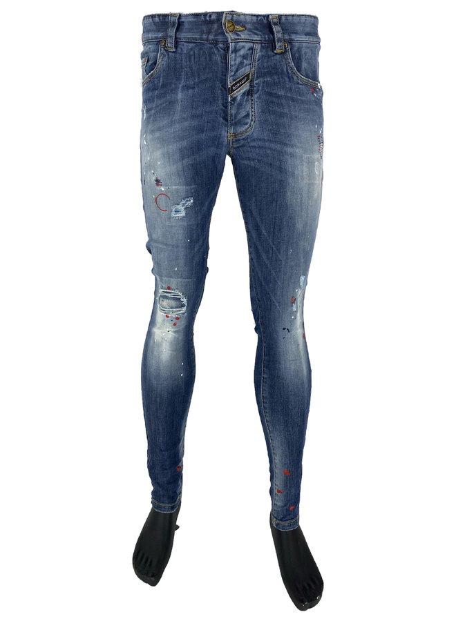 Boragio - 7338 Jeans Blue