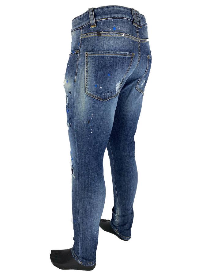 Boragio - 7273 Jeans Blue