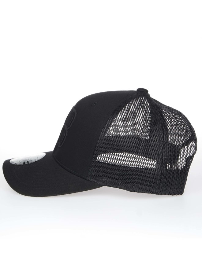 AB Retro Trucker Cap Black