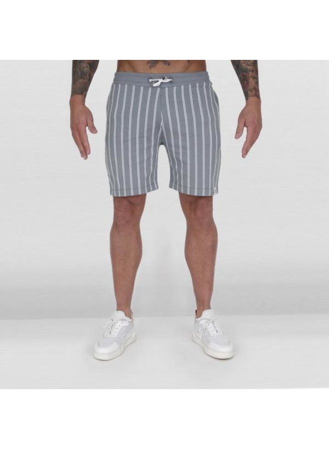 Ab Lifestyle - Striped Jogging Pants Grey