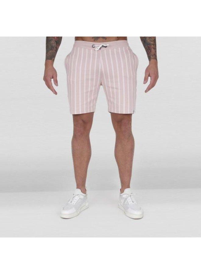 Ab Lifestyle - Striped Jogging Pants Salmon