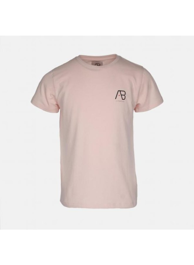 Ab Lifestyle - KIDS Ab Girls Essential Tee Pink
