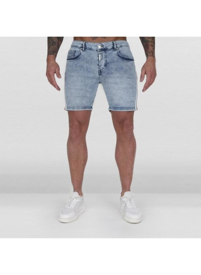 Ab Lifestyle - Ab Short Denim Jeans Vintage Blue
