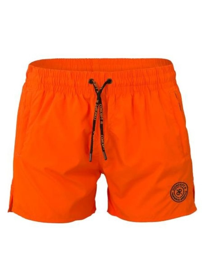 Concept R - Logo Swimshort Fluor Orange
