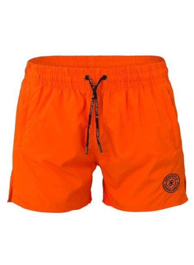 Concept R - Logo Swimshort Fluor Orange
