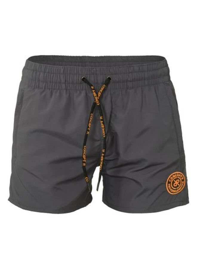 Concept R KIDS - Logo Swimshort Grey Orange