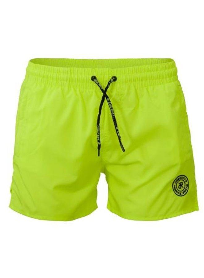 Concept R KIDS - Logo Swimshort Fluor Yellow