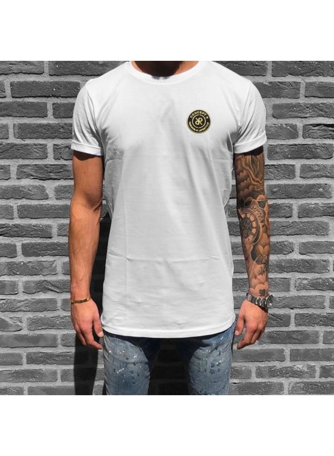 Concept R - Brand Tee White Gold