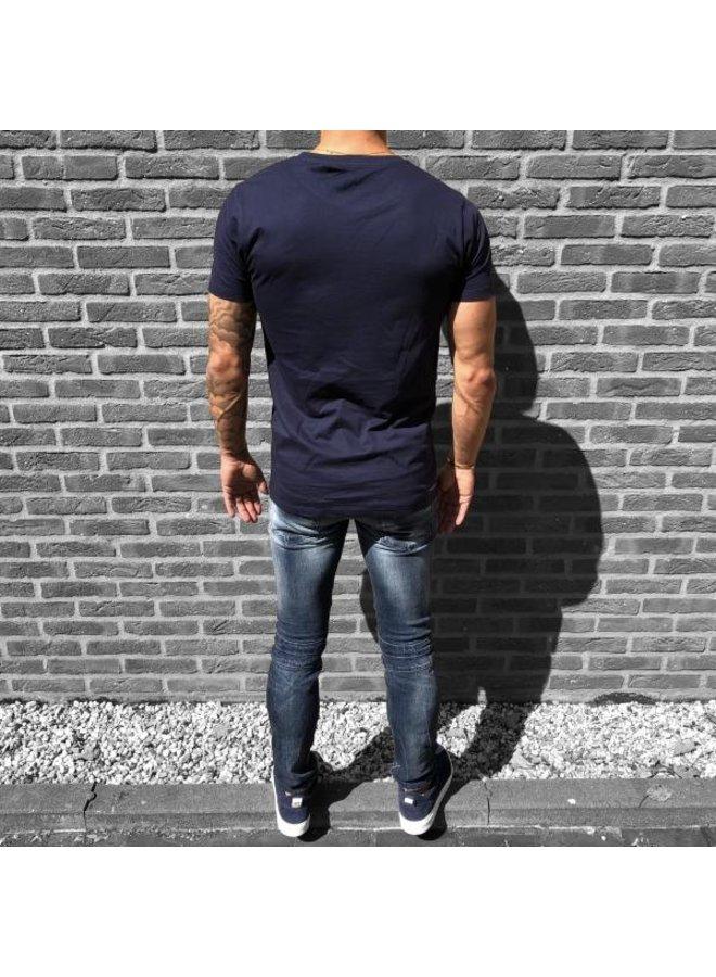 Concept R - Brand Tee Navy Blue