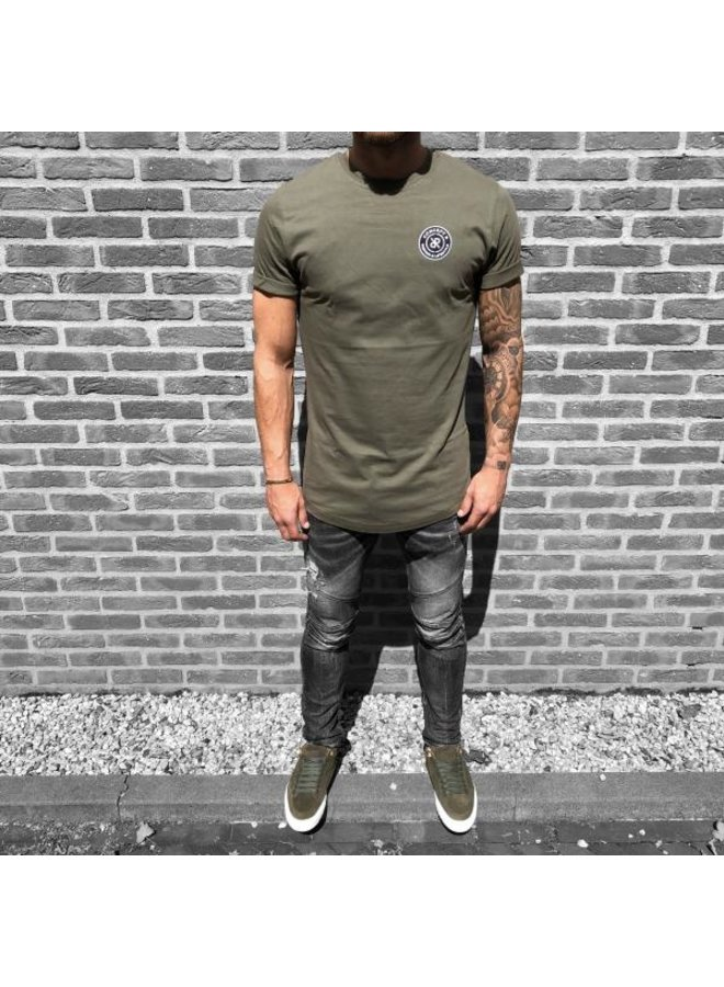 Concept R - Brand Tee Army Green