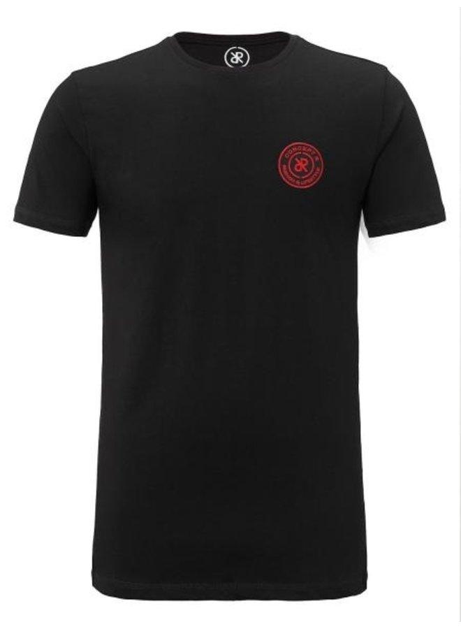 Concept R - Brand Shirt Black Red