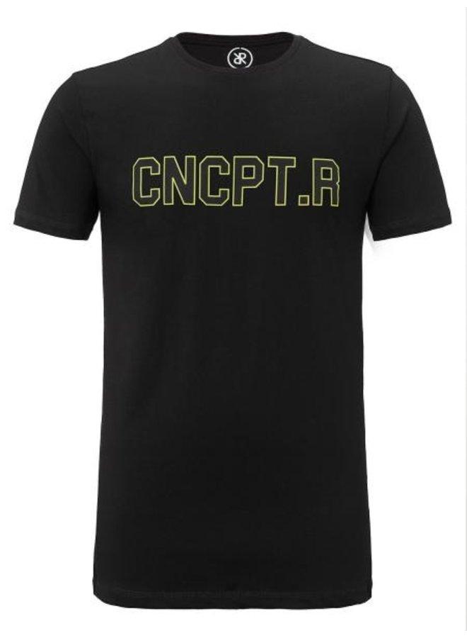 Concept R - CNCPT.R Shirt Black Yellow