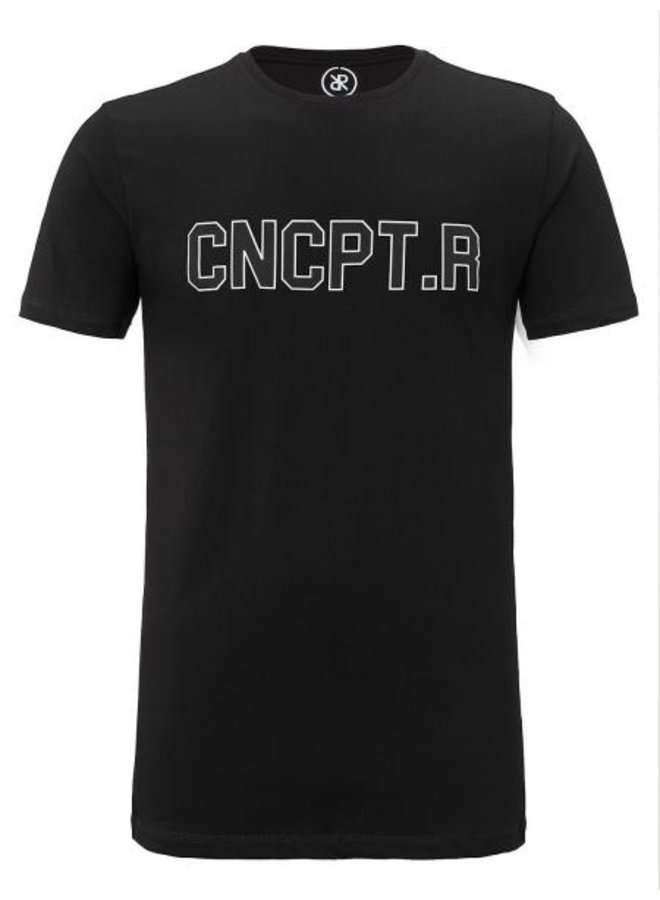Concept R - CNCPT.R Shirt Black White