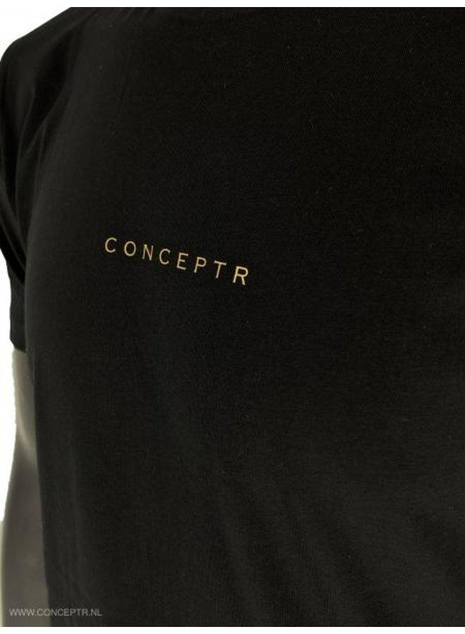Concept R - Letters Black Gold